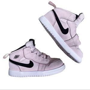 Nike Pink Air Jordan Mid Baby GirlToddler Size 8C